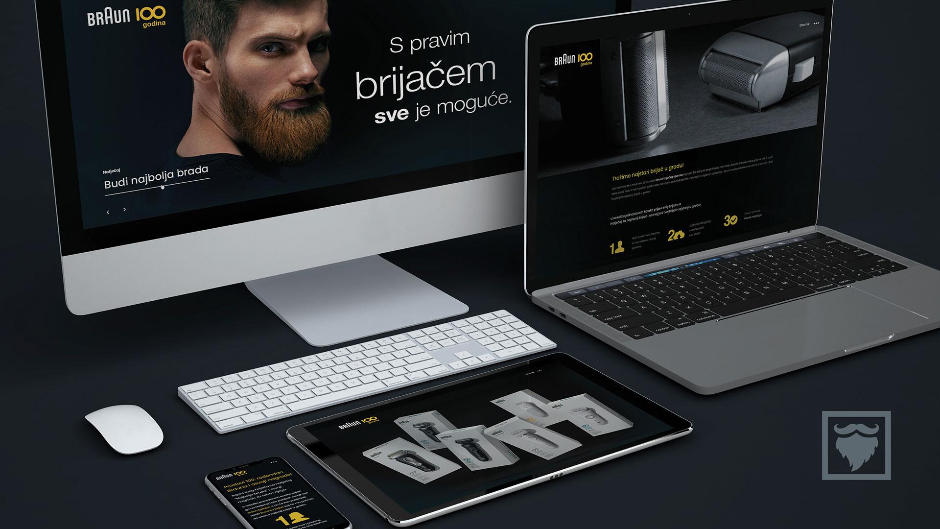 Brijači Braun micro-web